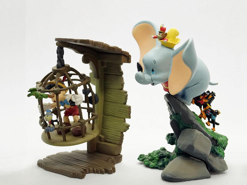 ピノキオとダンボ