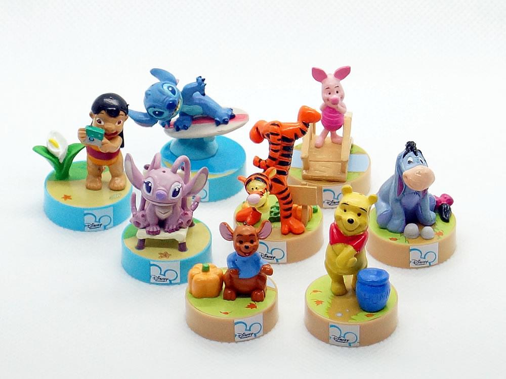 ディズニー・チャンネル ジオラマフィギュアストラップ