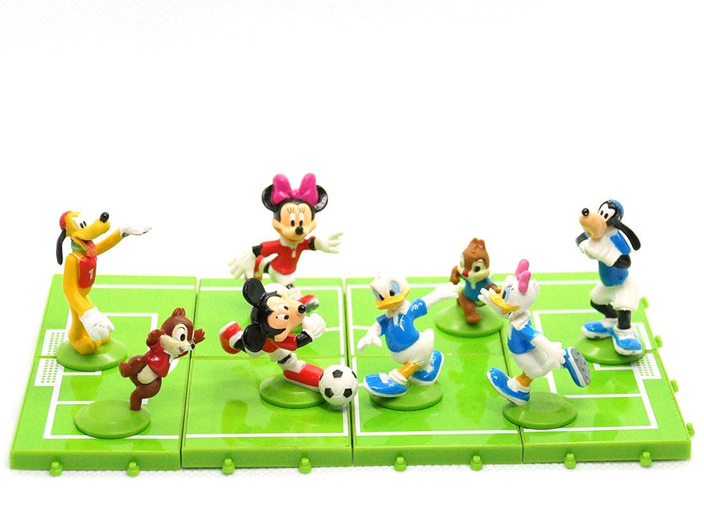 ディズニーキャラクターサッカーフィギュア