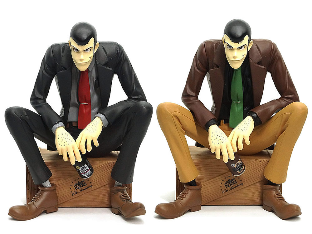 Roots 10th Anniversary LUPIN THE THIRD FIGURE