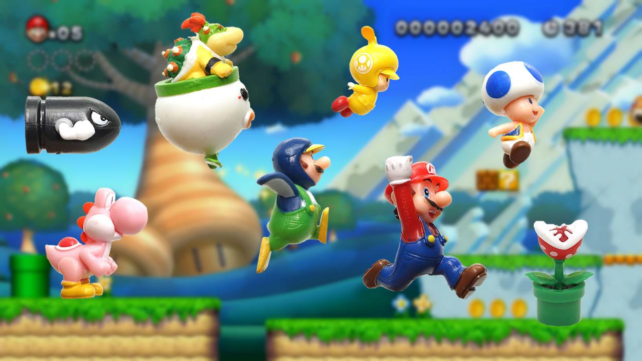 ニュー・スーパーマリオブラザーズ・Wii マスコット
